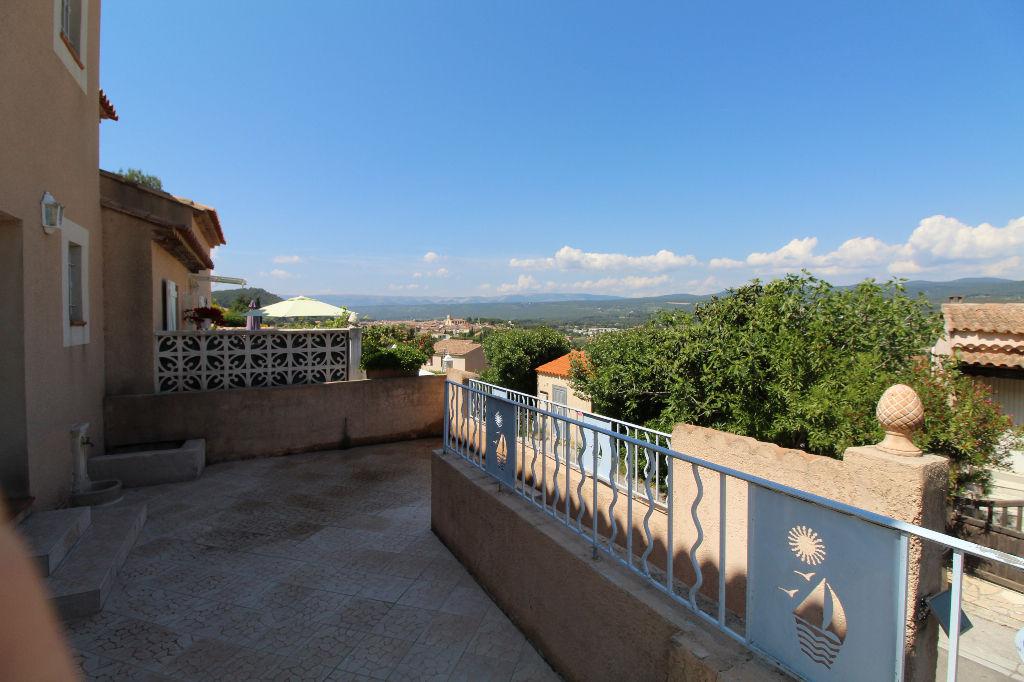 A vendre Maison Le Beausset T4 de 88 m² avec jardin et jolie vue