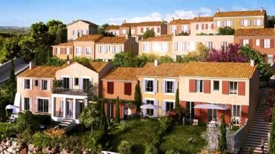Le Castellet domaine des Sarments Vente maisons T3 te T4 Prestations contemporaines